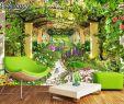 3d Garten Frisch Us $8 85 Off Beibehang Tapete Für Wände 3 D Große Eigene Tapete Garten Blume Foto Tapete 3d Wohnzimmer Das Schlafzimmer Tv Wand Papier In Tapeten