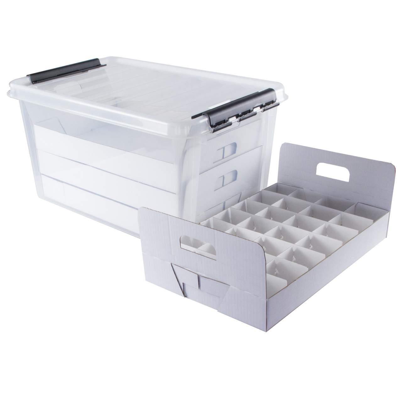 Aufbewahrungsbox Garten Reizend top Box Aufbewahrungsbox Für Dekoartikel Mit Gefache