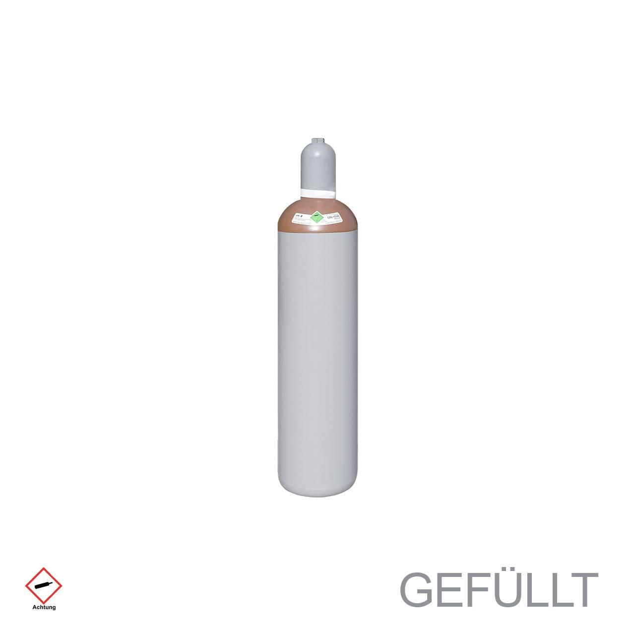 F Helium Ballongas Flasche 20 Liter gefuellt