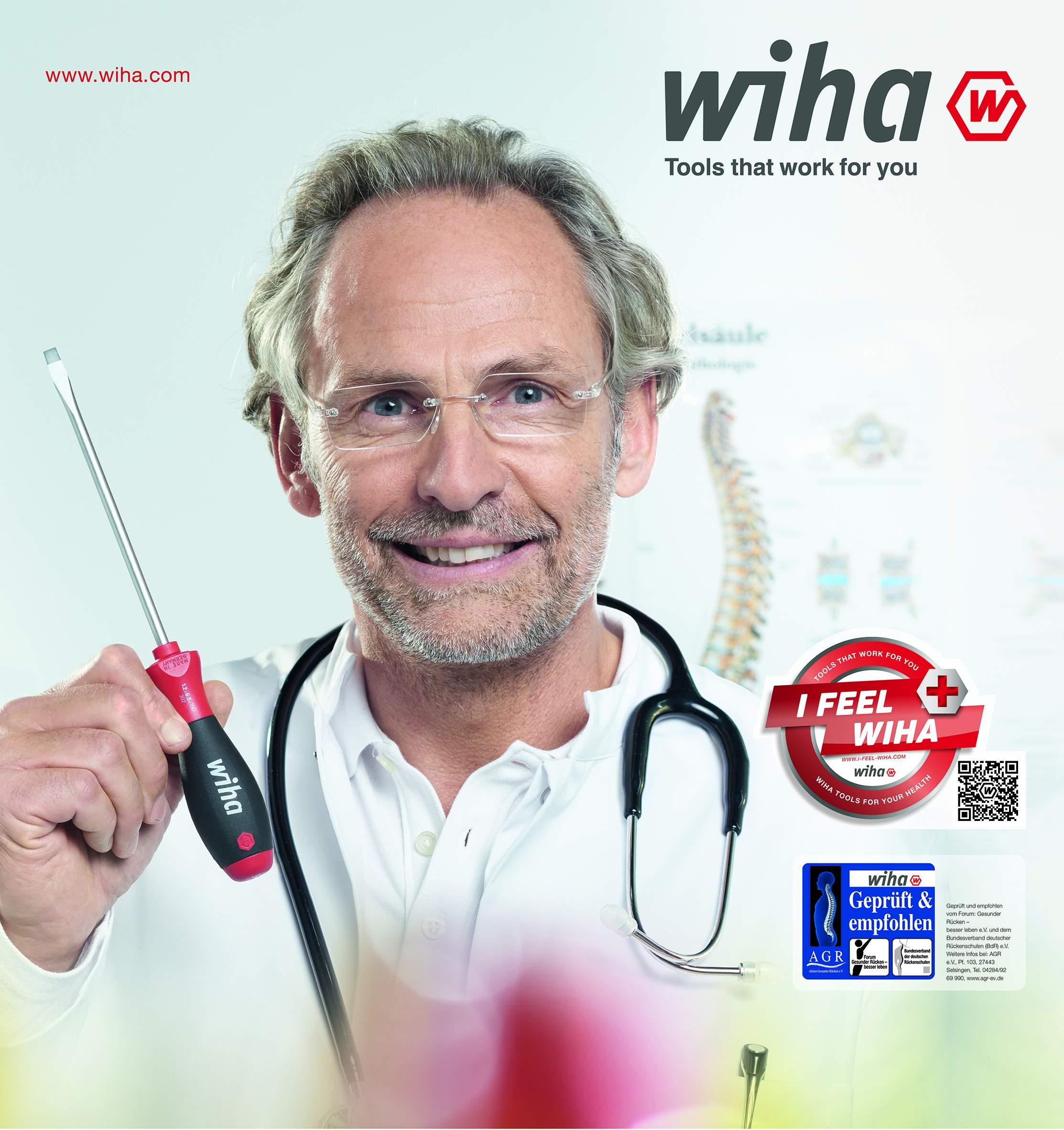 Wiha Gesundheitskampagne Anzeigenmotiv doc 300dpi