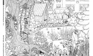 26 Reizend Ausmalbilder Garten Inspirierend