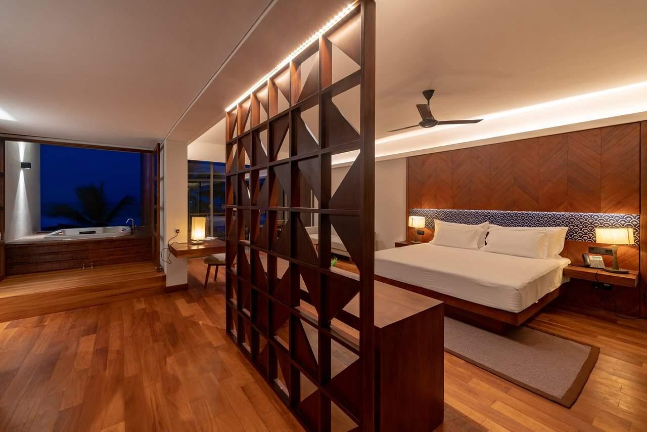 premium room with open