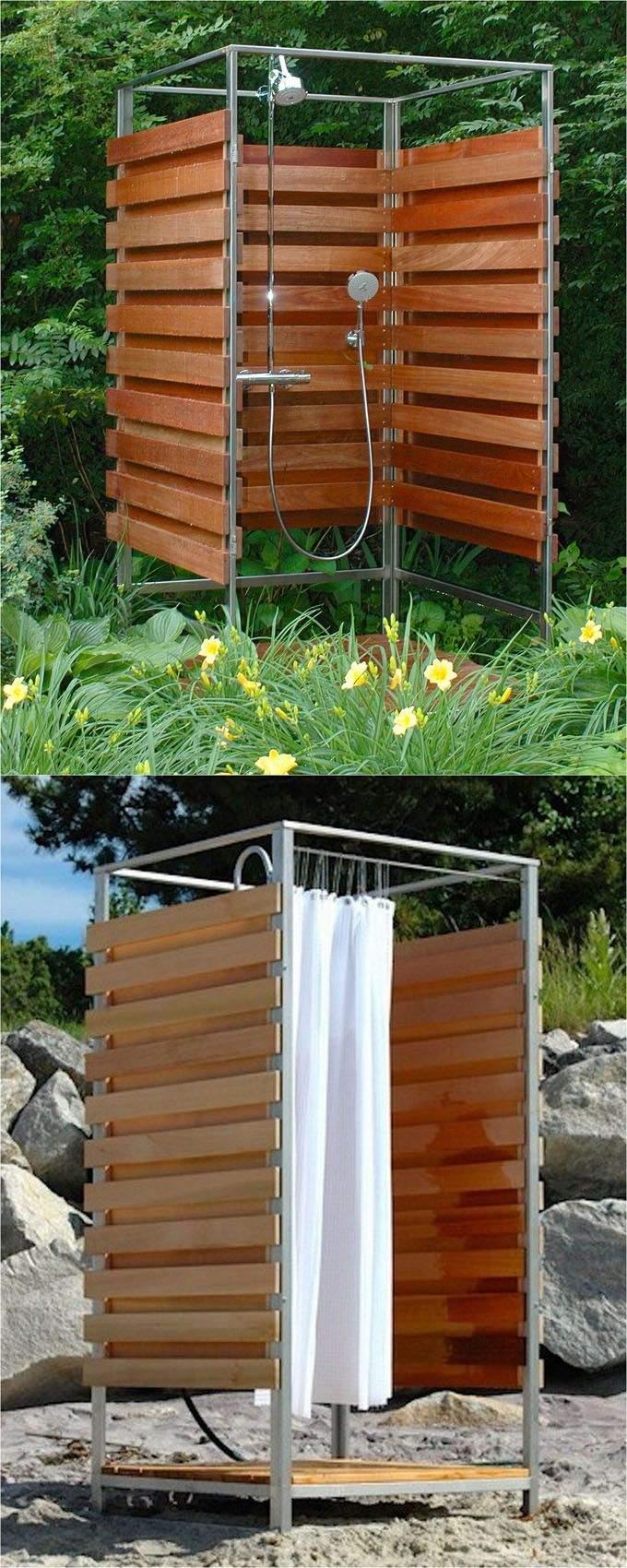 Aussendusche Garten Schön 32 Beautiful Diy Outdoor Shower Ideas for the Best Summer