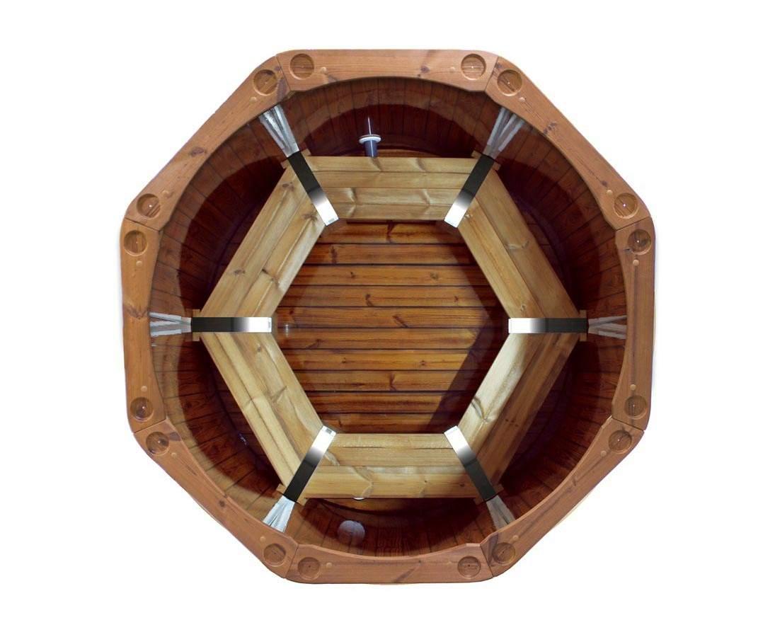 Hot Tub Spezial Set1 Holzofen mit Durch 150cm 1u2xTlrXq5wUur