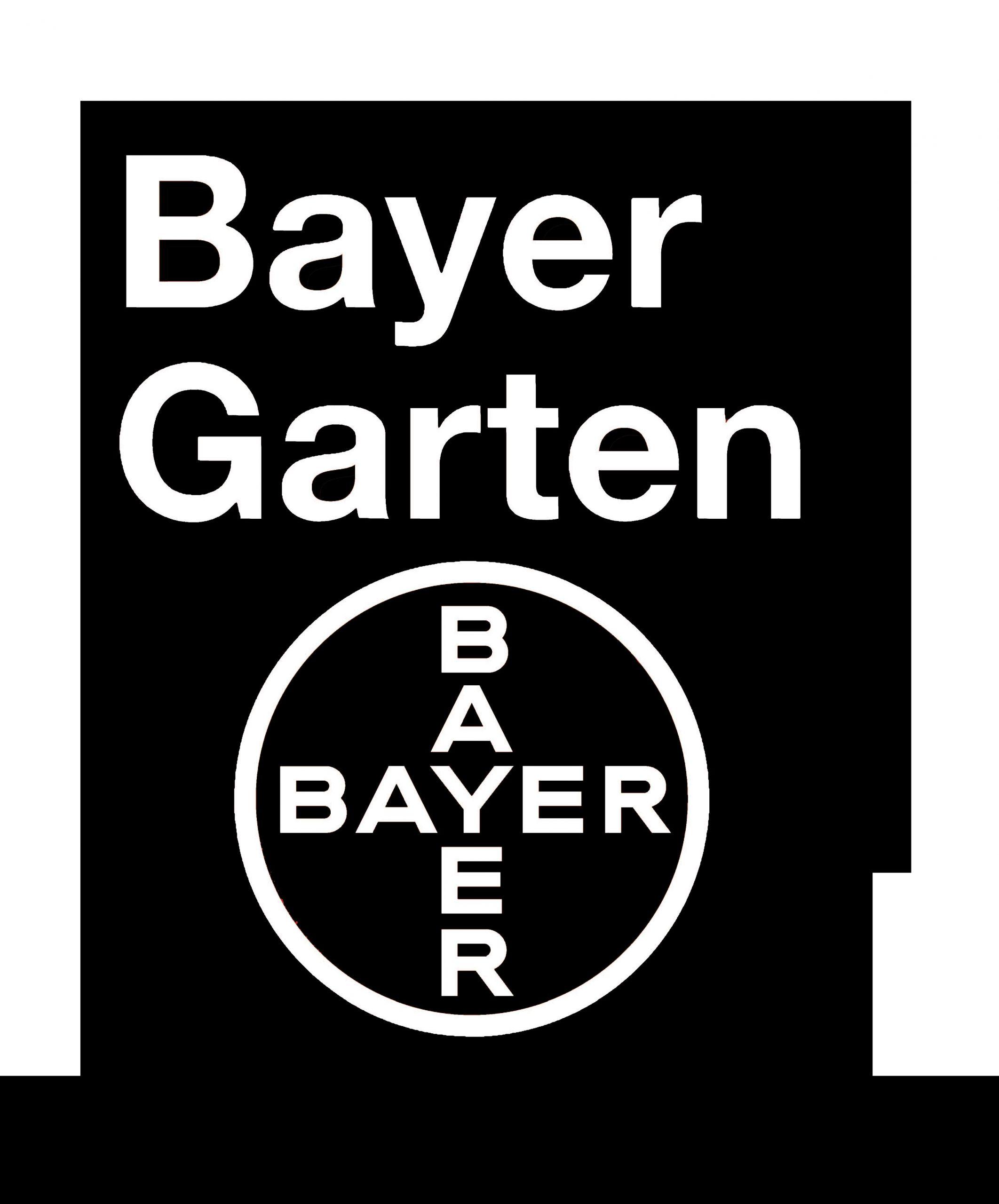 Bayer Garten schwarz