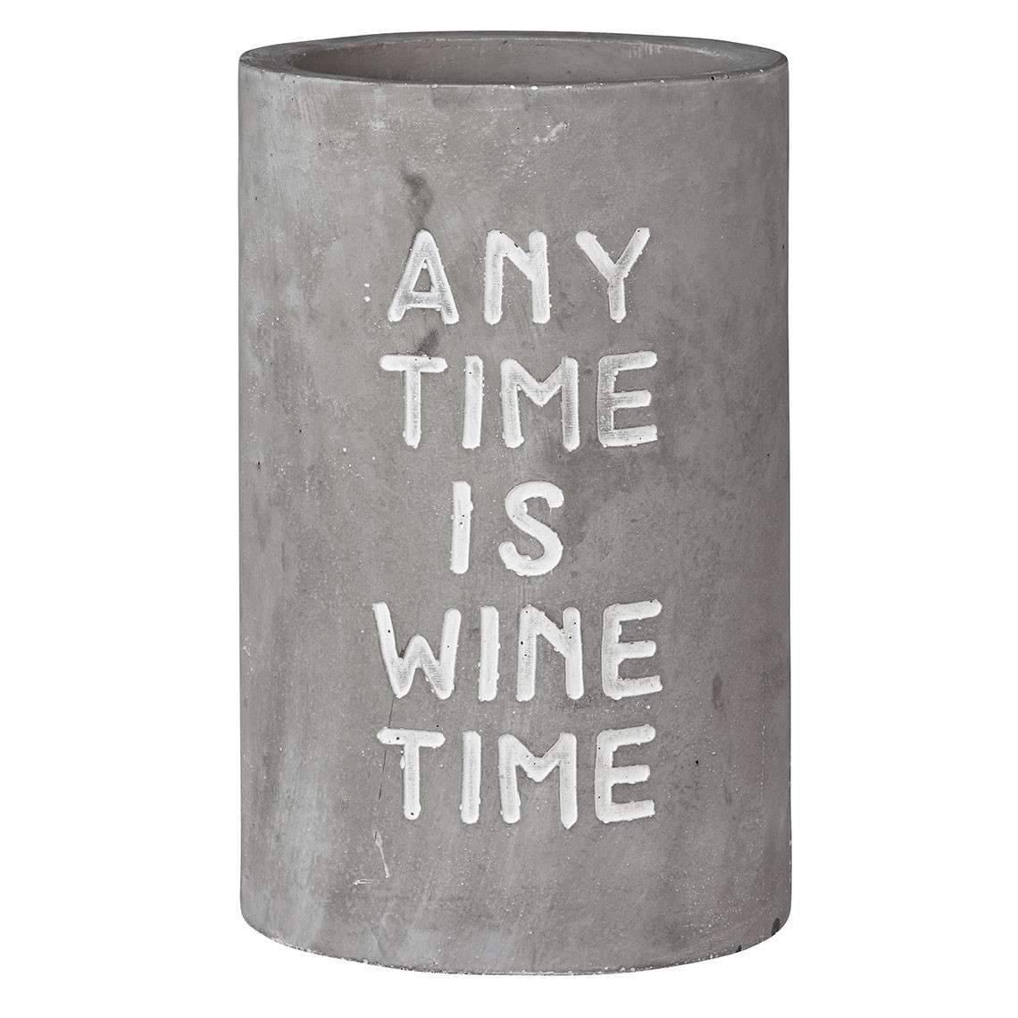 Weink hler aus Beton Any Time Is Wine Time 600x600 2x