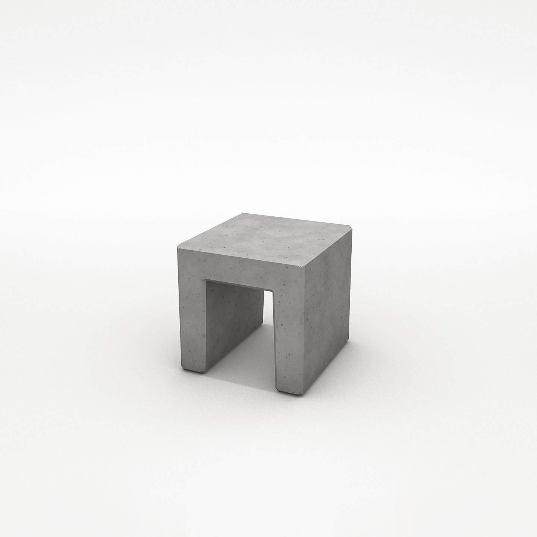 Hocker aus Beton Sitzmoebel