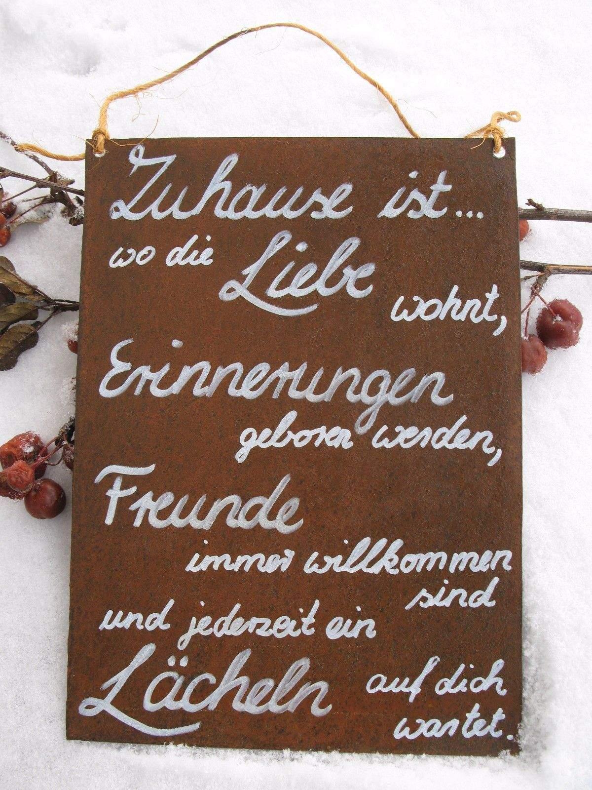 Bin Im Garten Schild Luxus Edelrost Tafel Familie ist Garten Schild Spruch Geschenk