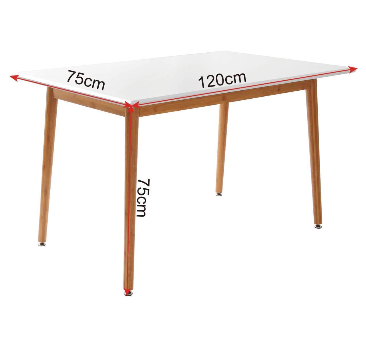 Esstisch Schreibtisch MDF Kuechentisch BT07ws BT07ws 5