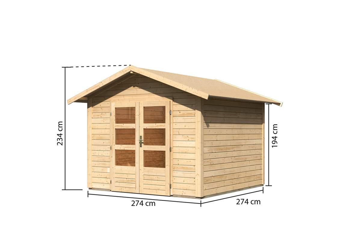 Karibu Gartenhaus 02