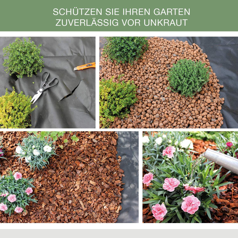 Blumen Für Garten Neu Unkrautvlies Für Garten Hochbeet Gewächshaus 50g M² 1