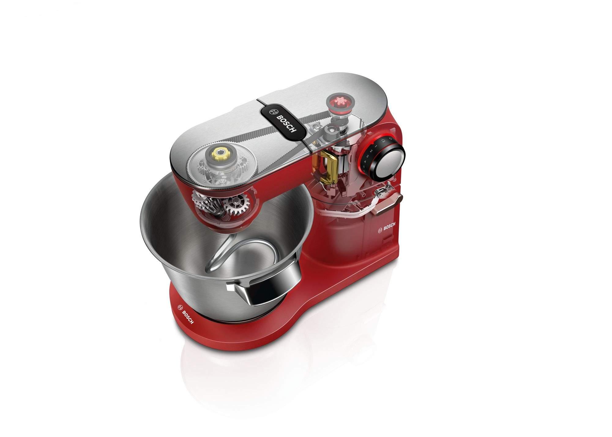 Bosch MUM9A66R00 Extragrosse Edelstahl Ruehrschuessel mit 5 5l Kapazitaet 2