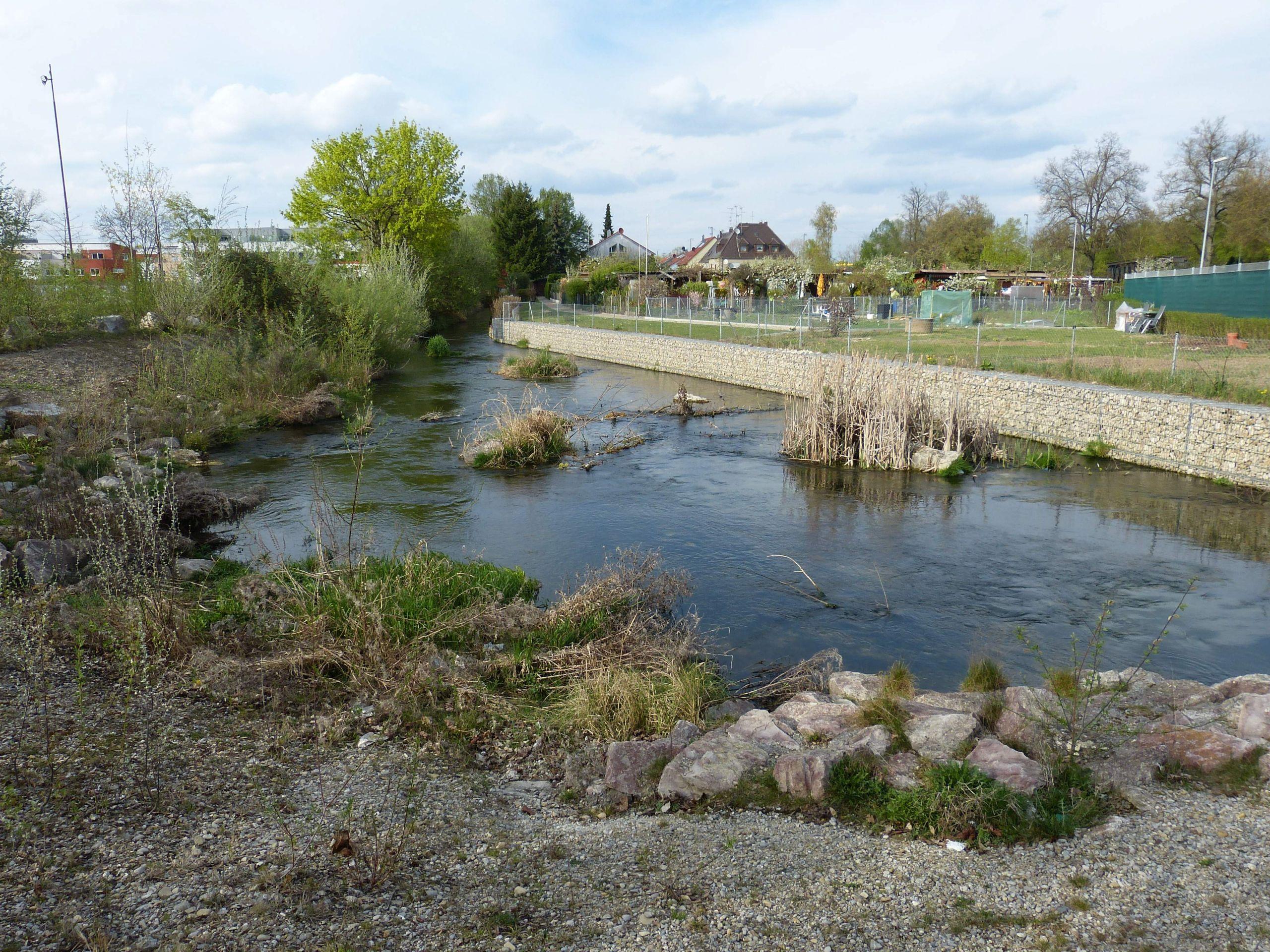 Augsburg Hettenbach Flachwasserzone