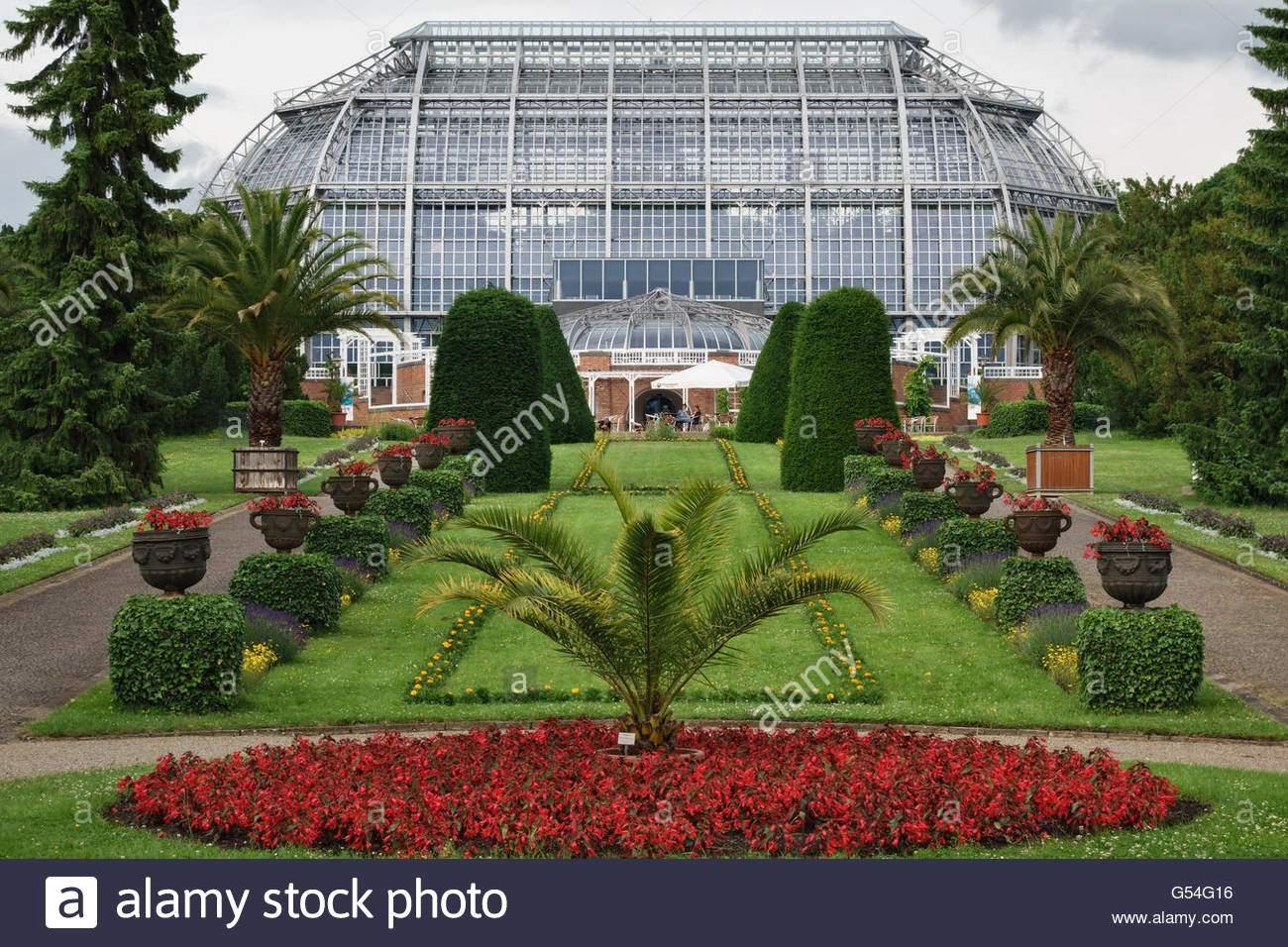 berlin deutschland der botanische garten berlin dahlem wichtigsten tropischen gewachshaus g54g16