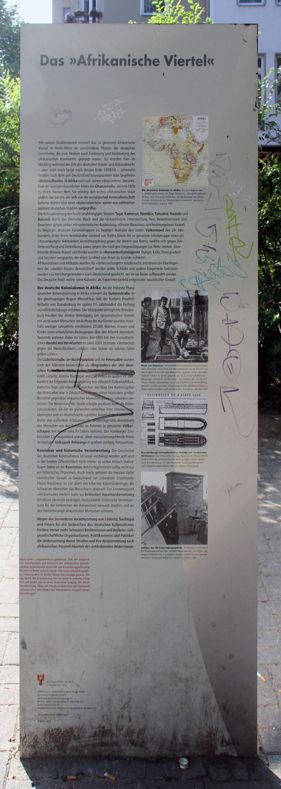 Gedenktafel Otawistr 2 Weddi Afrikanisches Viertel2