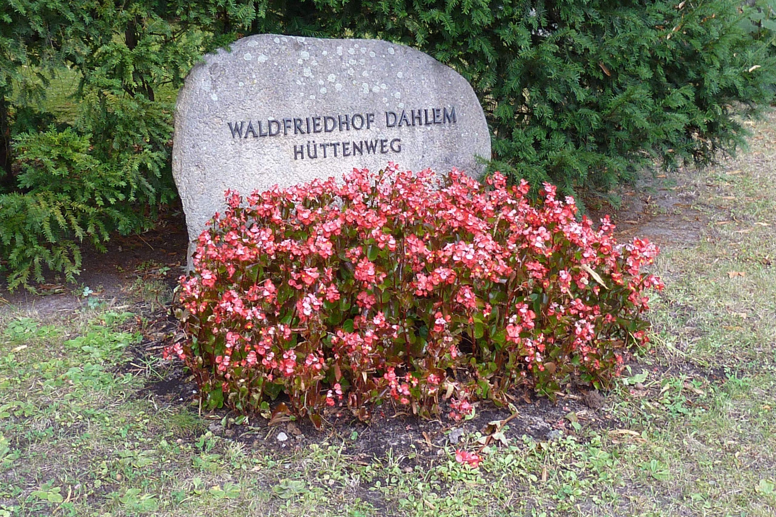 Waldfriedhof Dahlem Eingang