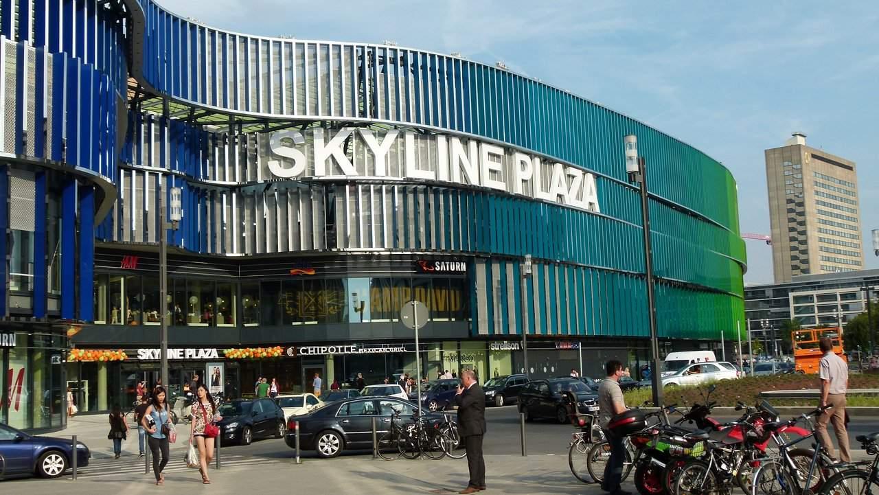 skyline plaza eingang