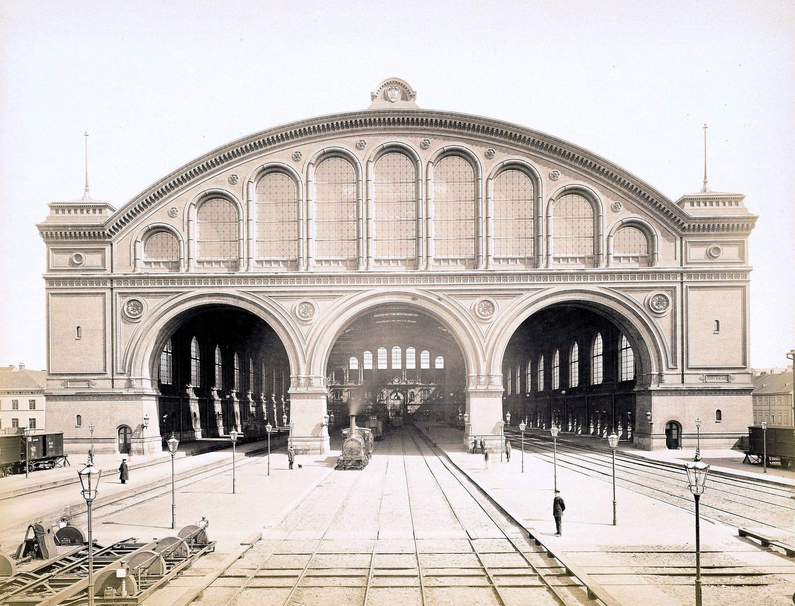 Anhalter Bahnhof 1881