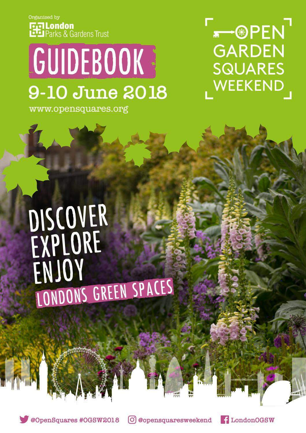 licht garten elegant open garden squares weekend guidebook 2018 by london parks of licht garten