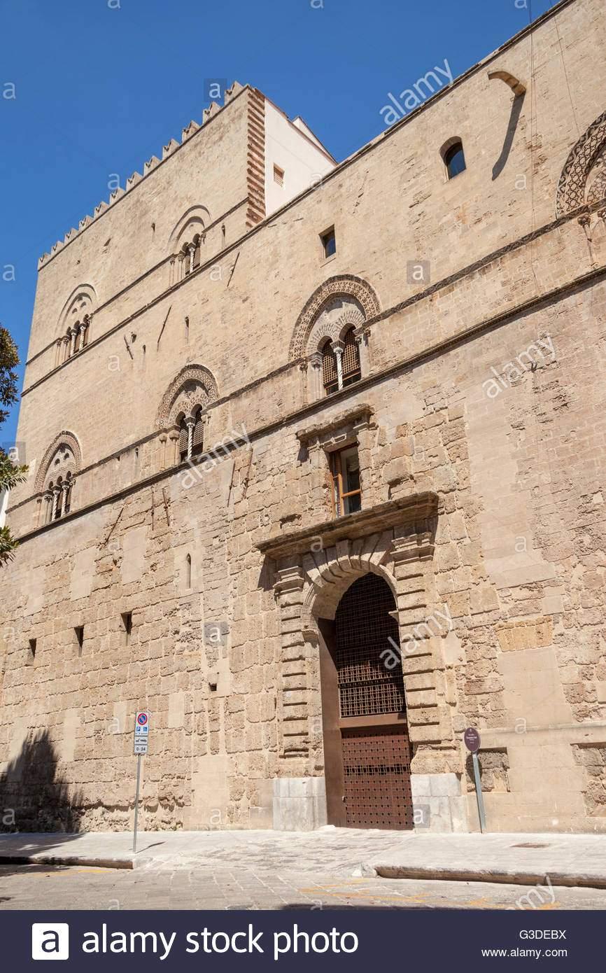 palazzo chiaramonte o steri palermo sizilien italien g3debx