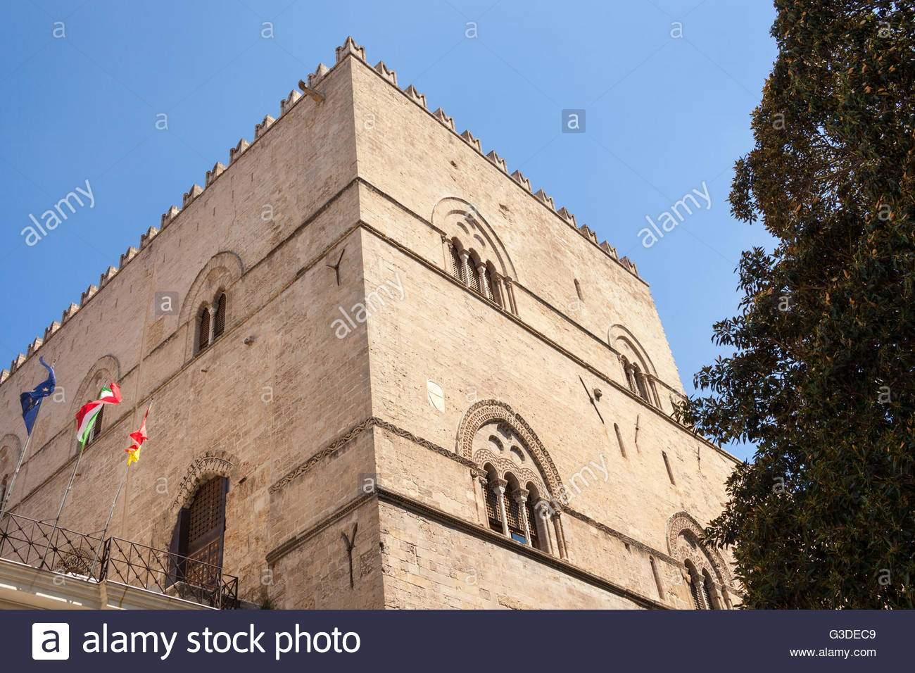 palazzo chiaramonte o steri palermo sizilien italien g3dec9