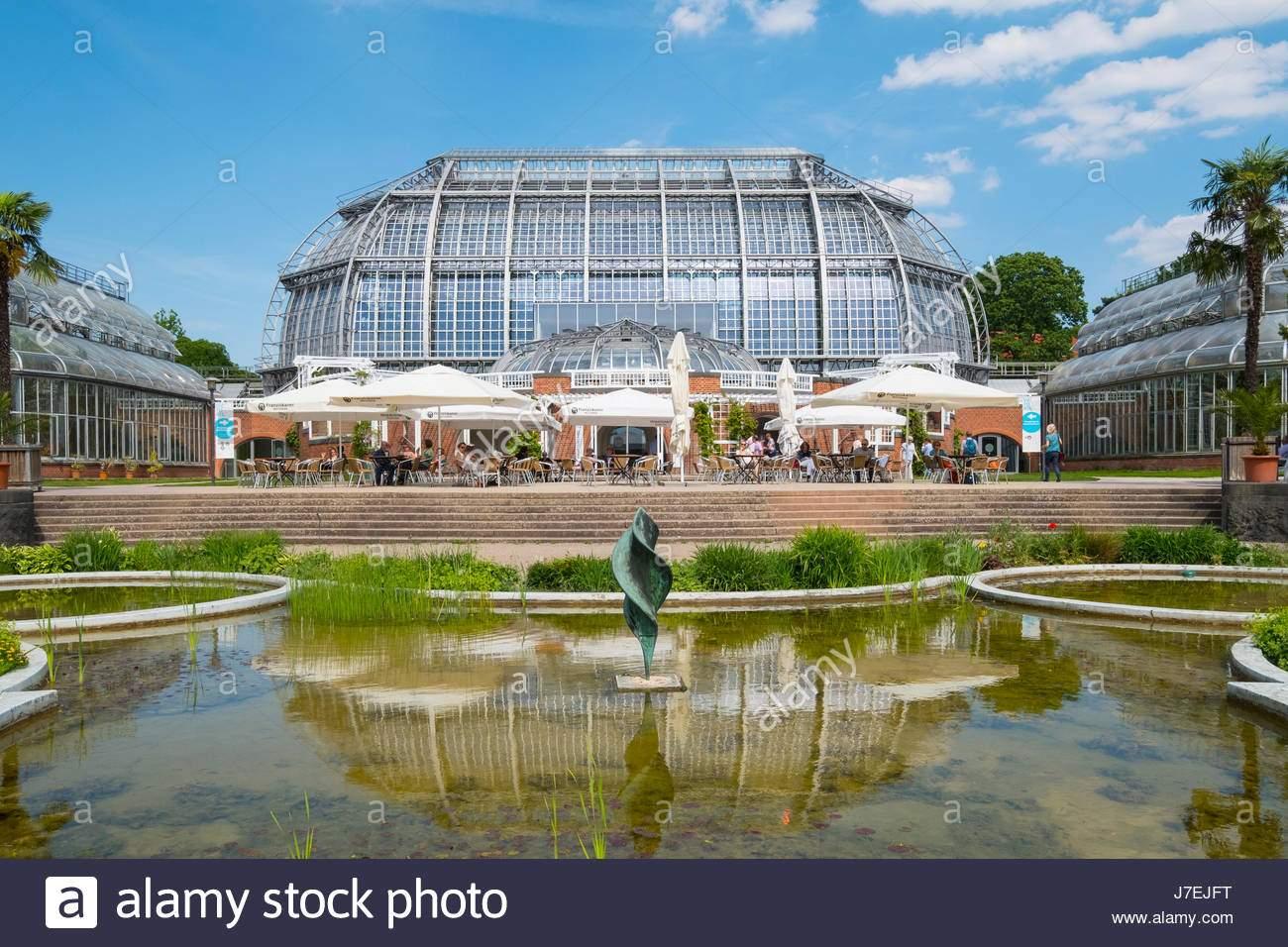 gewachshaus im berliner botanischen garten in dahlem berlin deutschland j7ejft