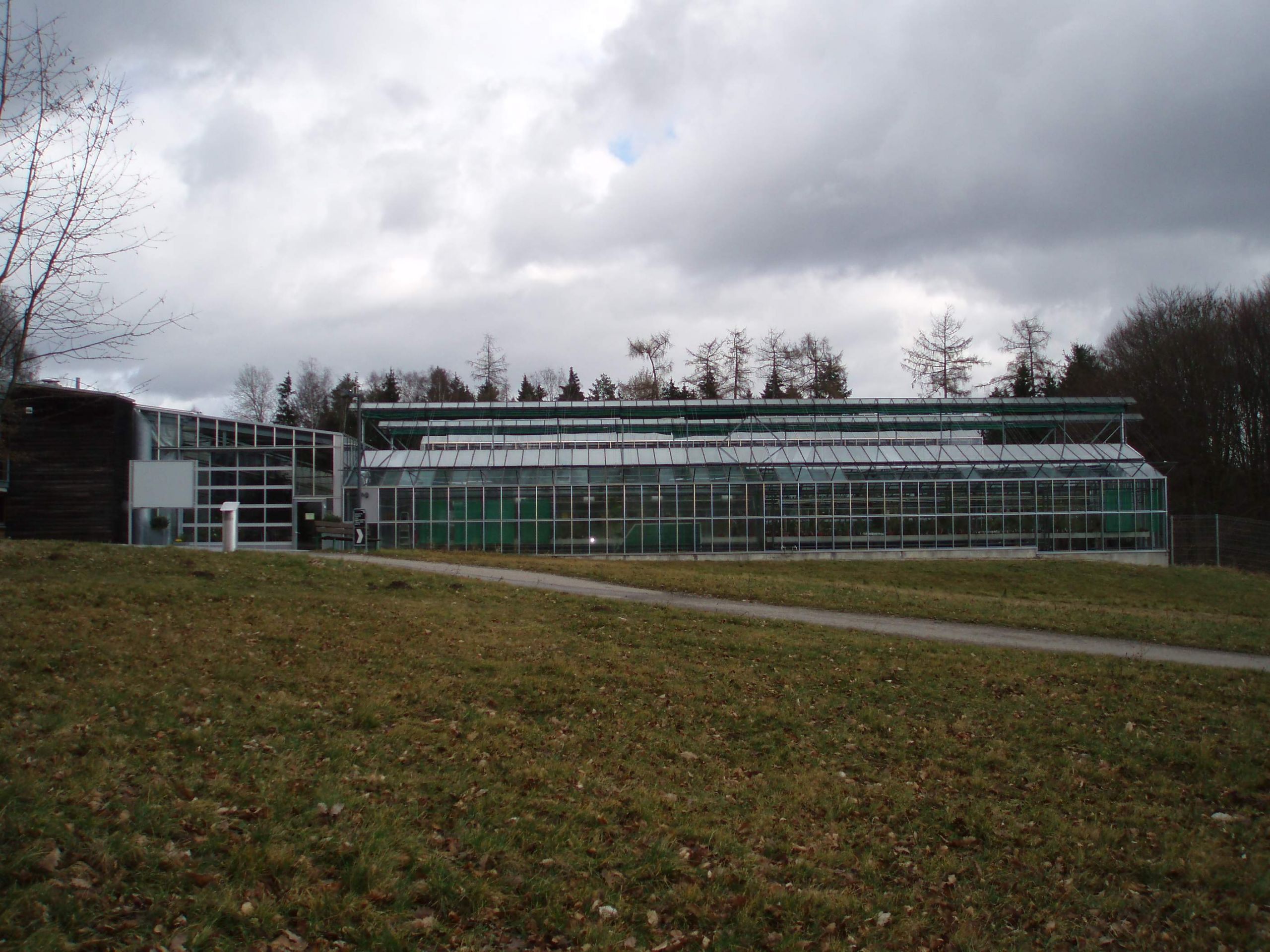 Botanischer Garten Ulm Gewächshaus