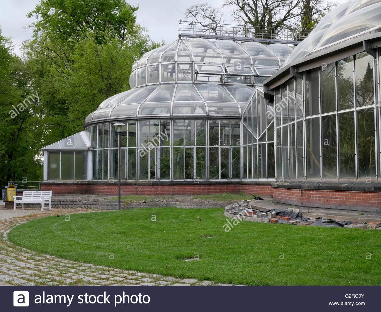 gewachshauser im berlin dahlem botanischer garten und botanisches museum berlin deutschland eu g2rc0y