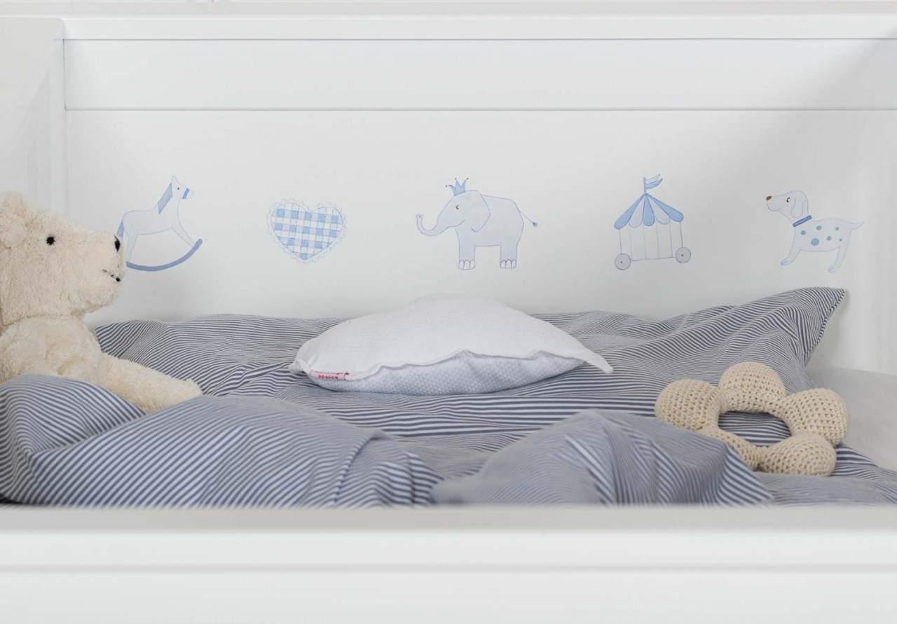 Babybett Motive blau Jersey grau weiss 2019 2 1280x1280