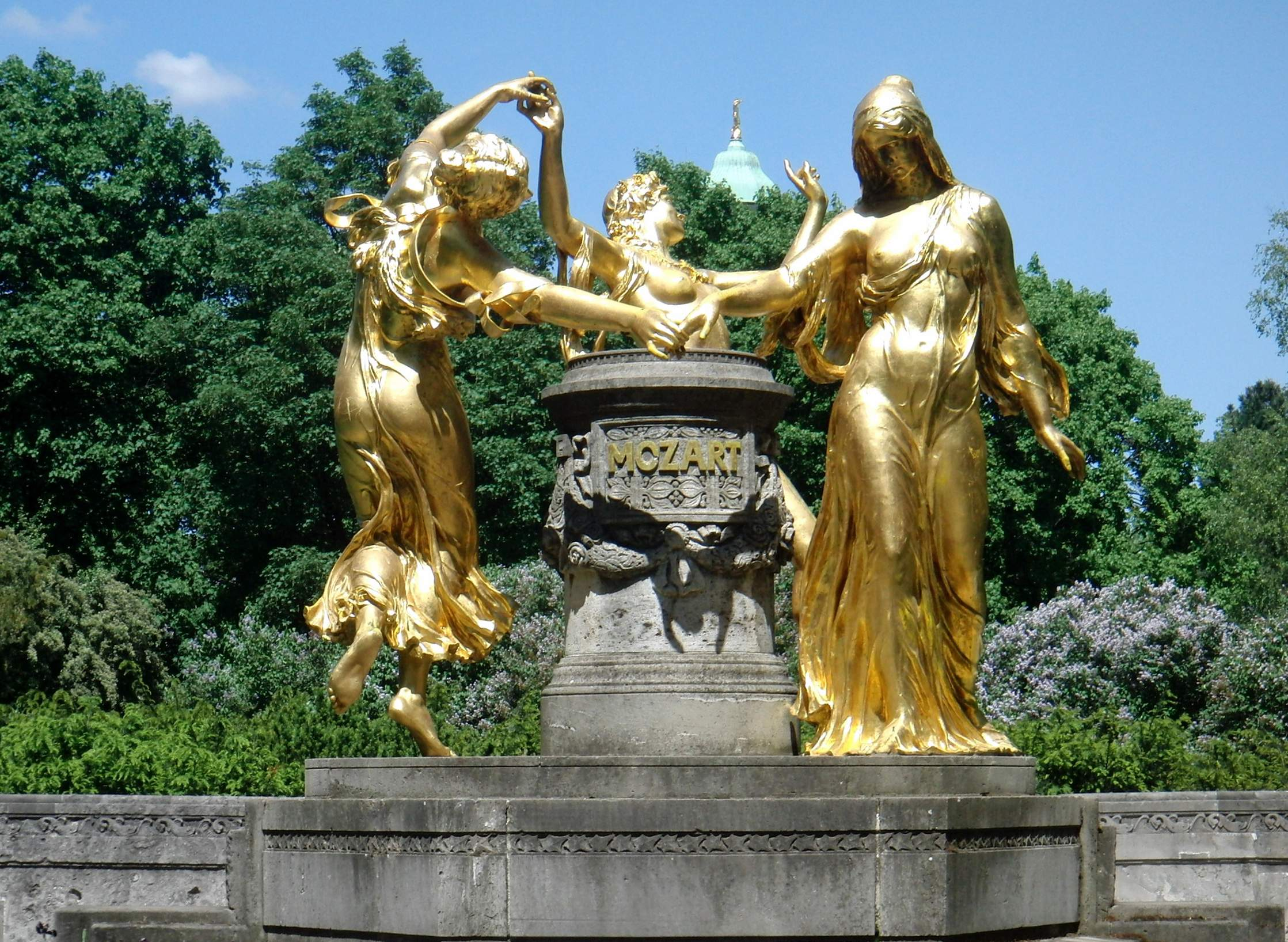 Dresden Mozartbrunnen Rek Wolf Eberhard 11 JPG