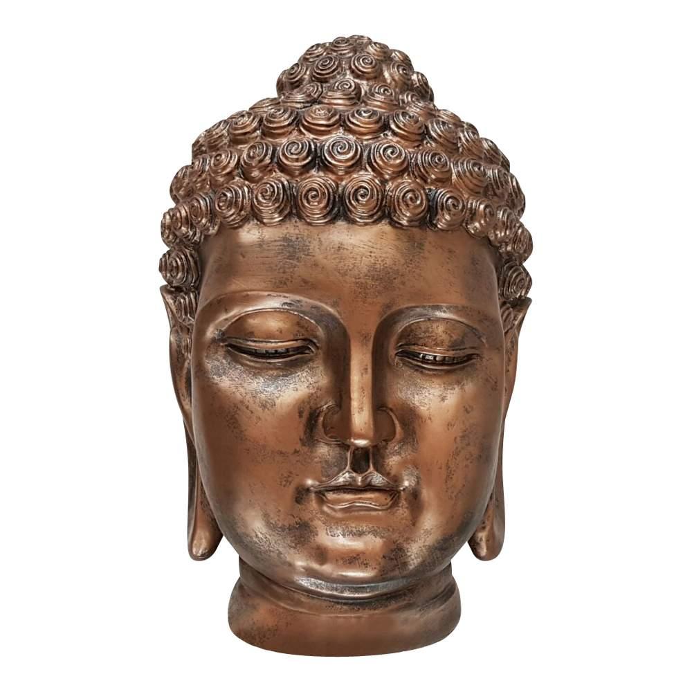 Buddha S081 Antik Kupfer