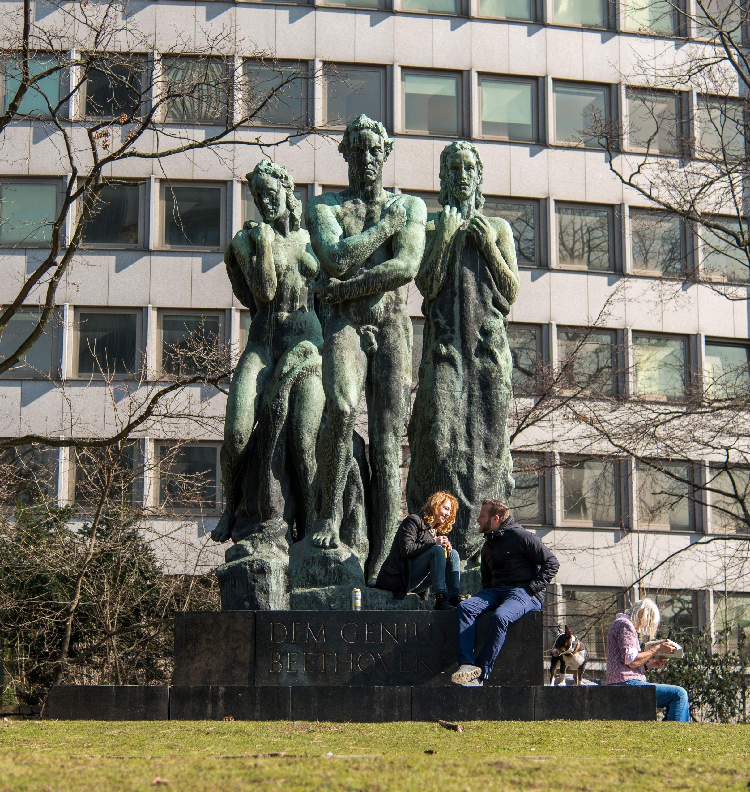 Frankfurt Taunusanlage Beethoven Denkmal