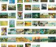 Claude Monet Garten Das Beste Von Kunstkarten Komplett Set Claude Monet