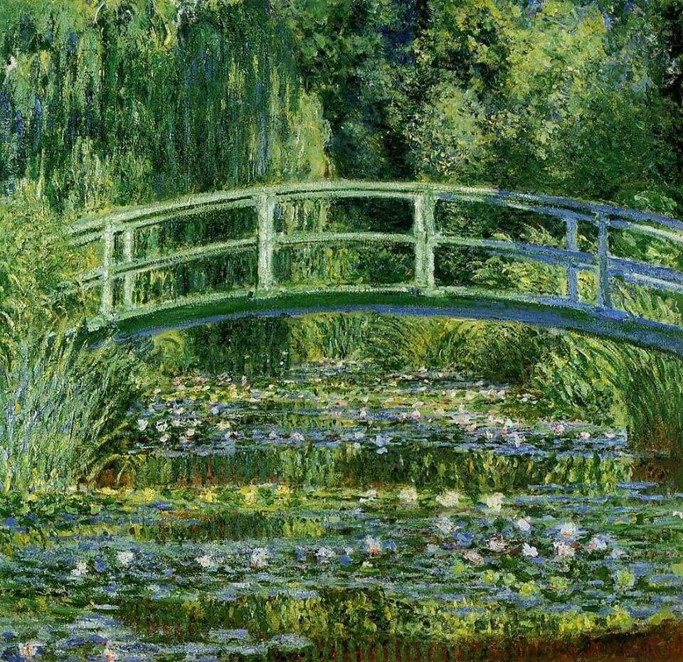"Claude Monet Garten Einzigartig Claude Monet the Water Lily Ponds Series 1899 """