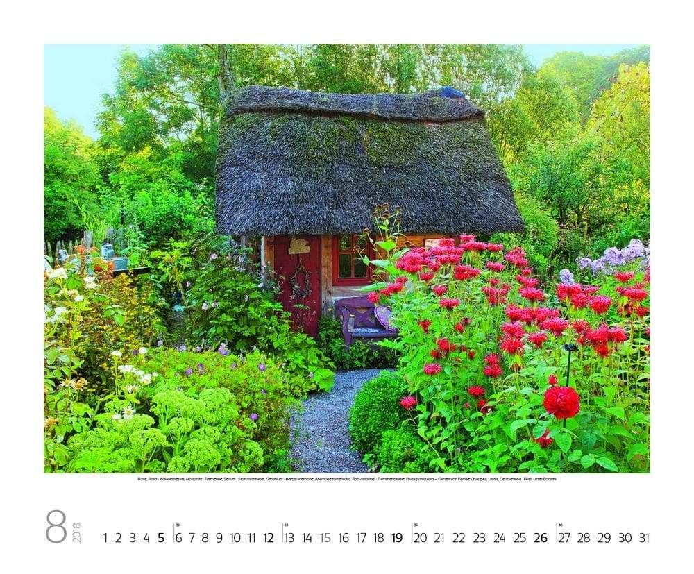 8 fotokalender gartentrume ursel