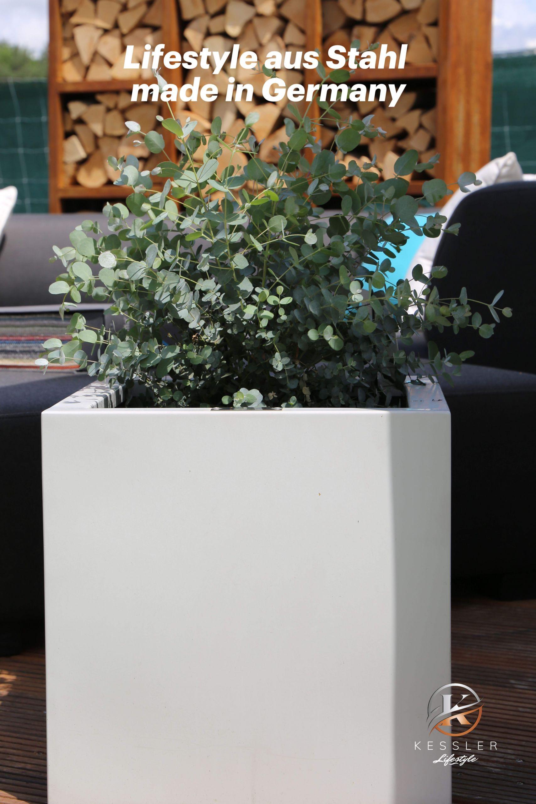 Deko Garten Edelstahl Genial Lifestyle Pflanzkübel In Allen Variationen Aus Rostfreiem