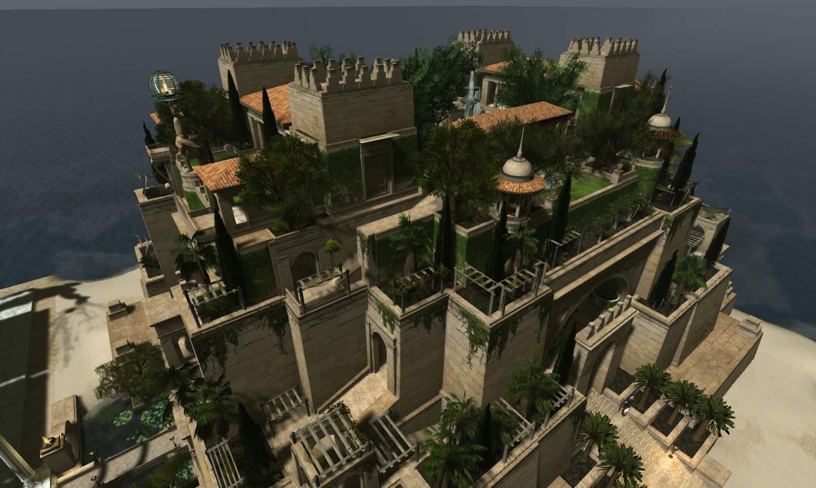 Die Hängenden Gärten Der Semiramis Zu Babylon Genial Echt Virtuell Weitere Impressionen Von Der Fashion for Life