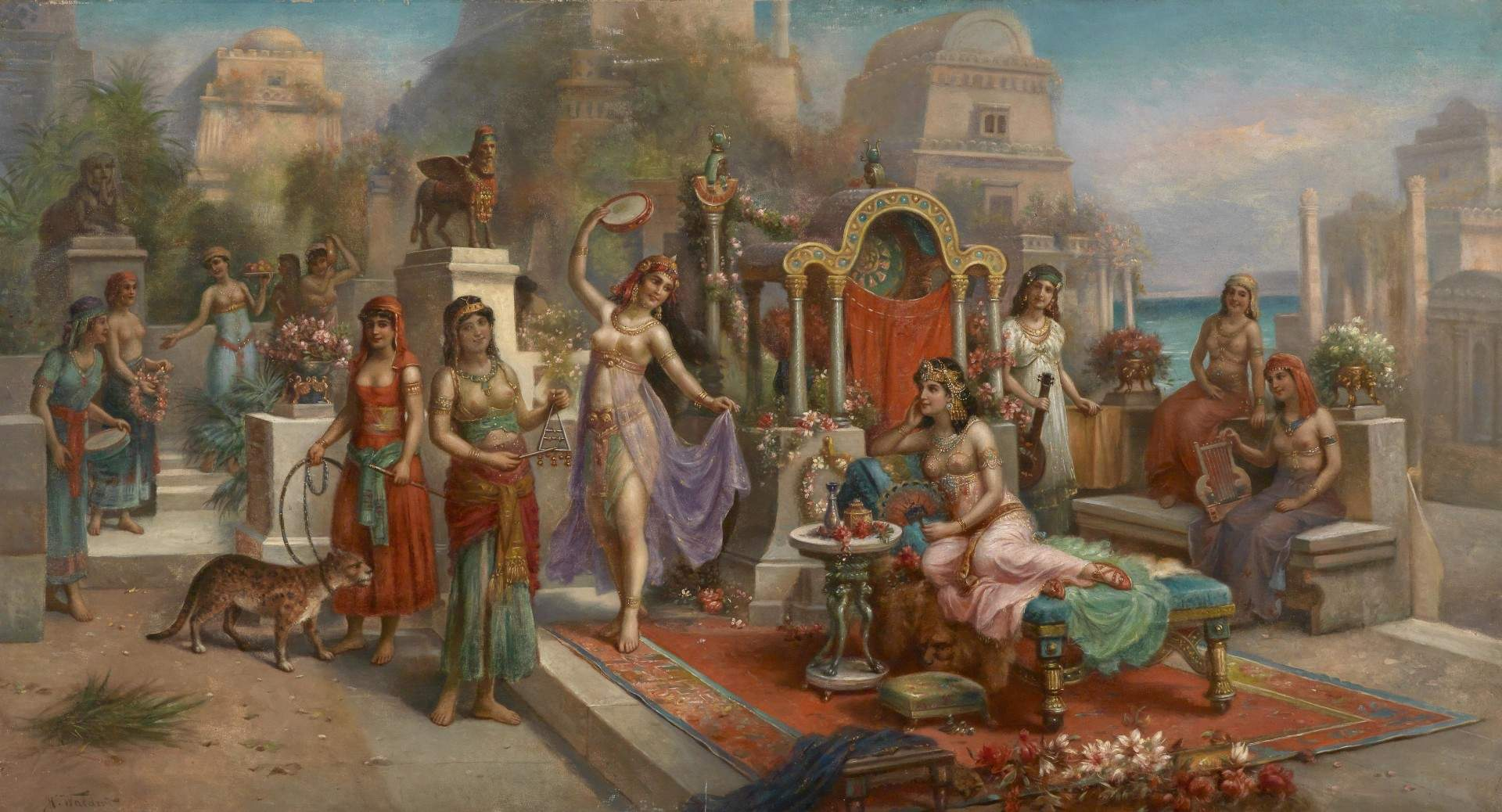 babylonischen gaerten