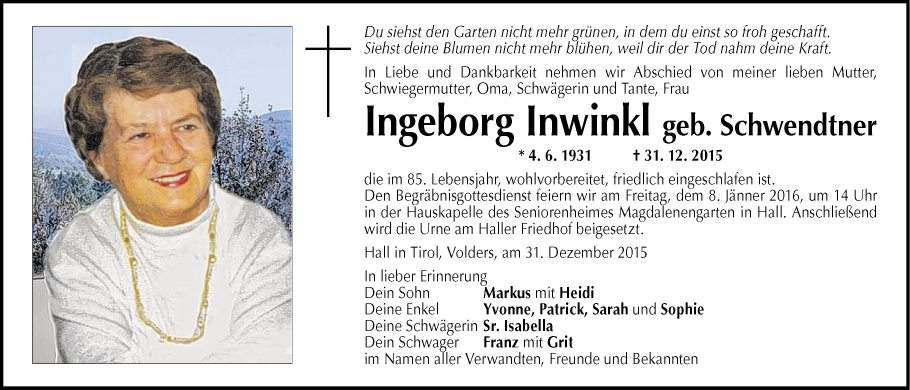 ingeborg inwinkl
