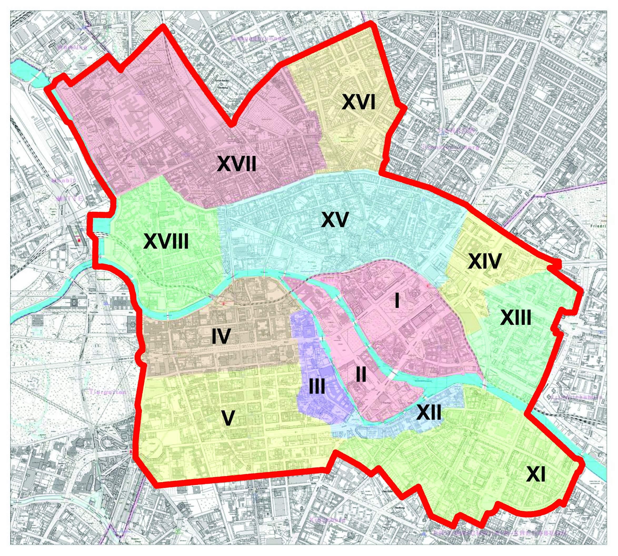 BMA Stadtteile Berlin Mitte