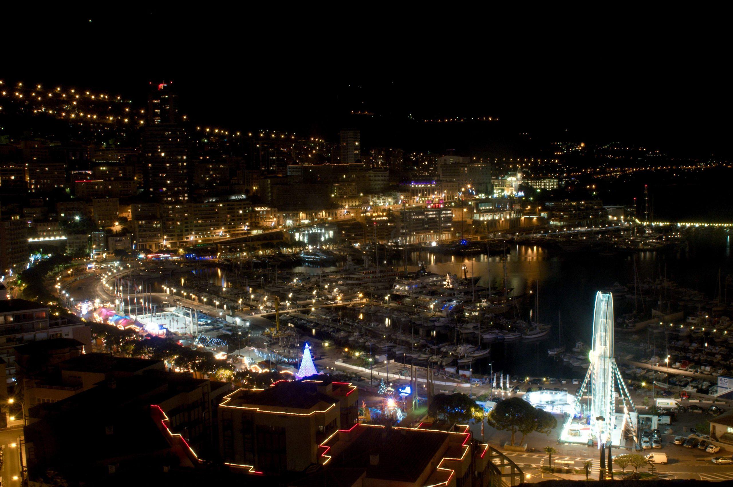 Monaco Port en décembre