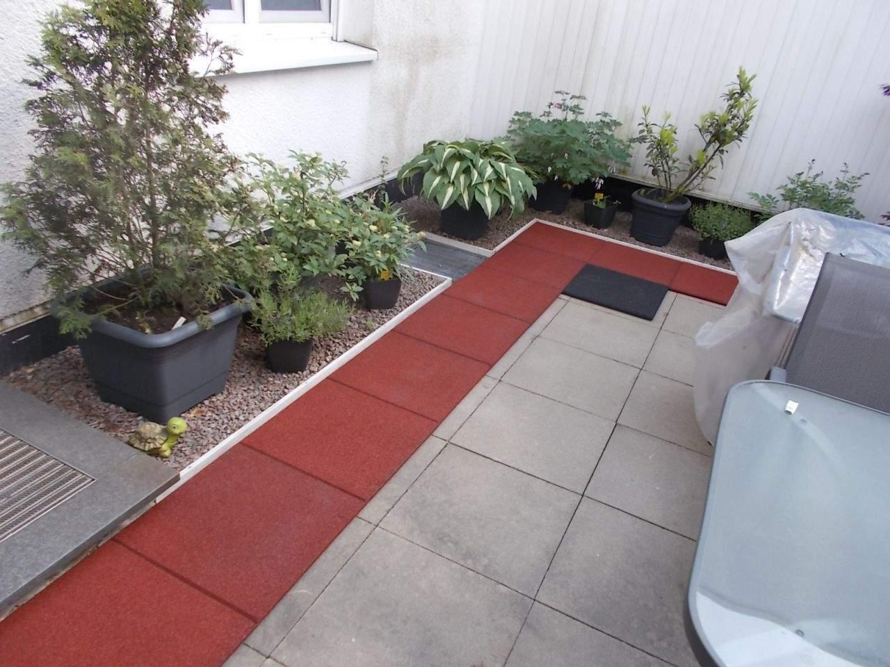 Fallschutzmatten Garten Elegant Fussboden Für Unser atrium Der Dritte Anlauf