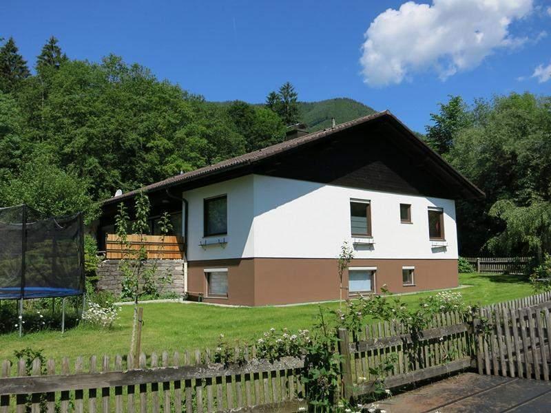 ferienhaus bungalow schleching mit garten
