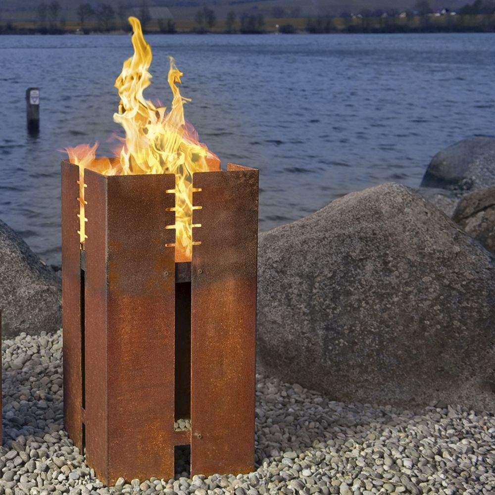 Feuerstelle Garten Gas Inspirierend Ferrum Feuerstelle 90 Cm