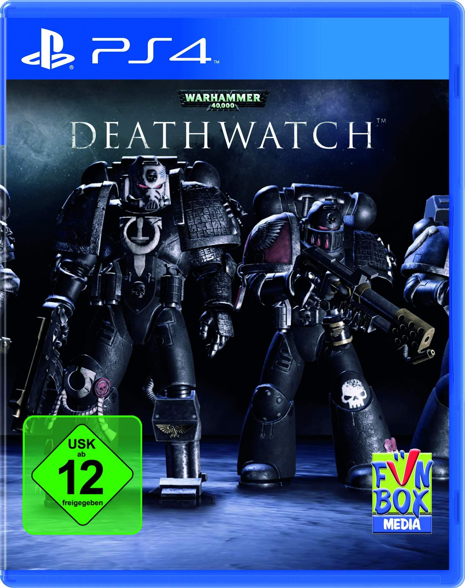 Warhammer40k Deathwatch PS4 USK Packshot