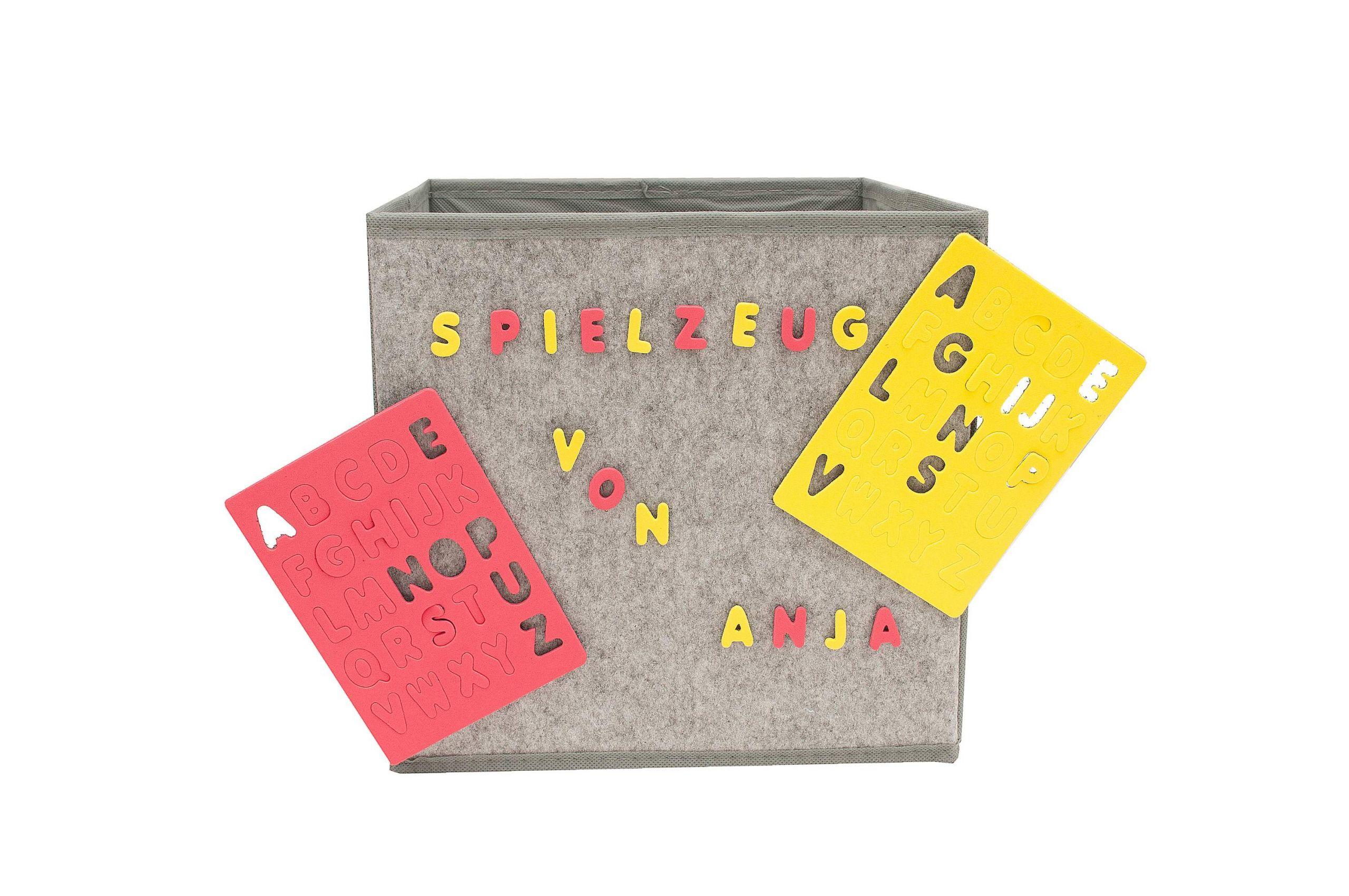 Garten Aufbewahrung Reizend Hti Line Paloma Aufbewahrungsbox Mit Buchstaben