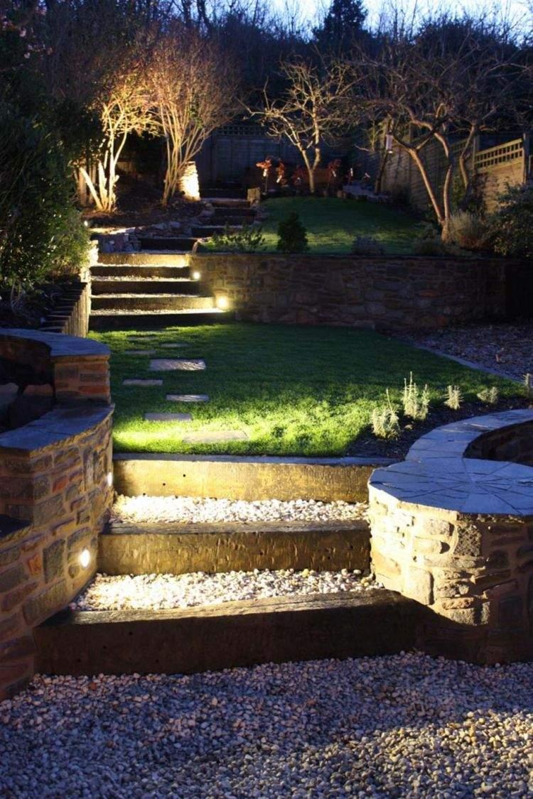 Garten Beleuchten Reizend Led Indirekte Beleuchtung Im Garten 46 Ideen