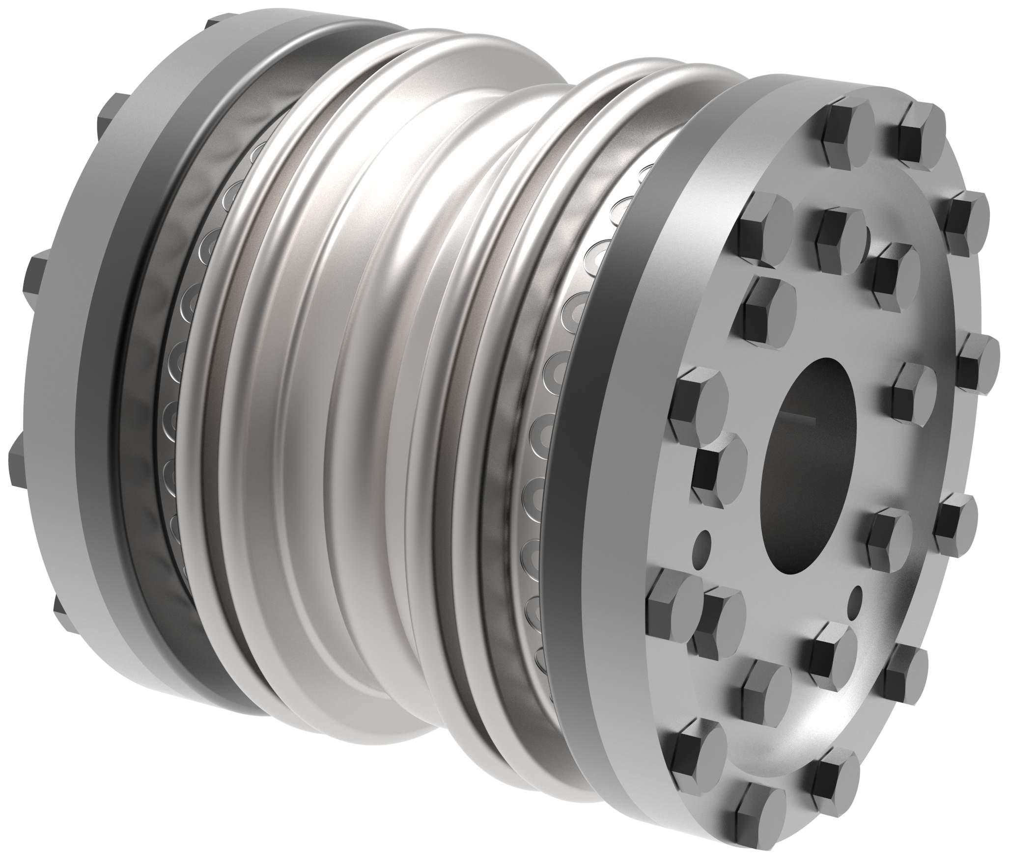 Metallbalgkupplung B B