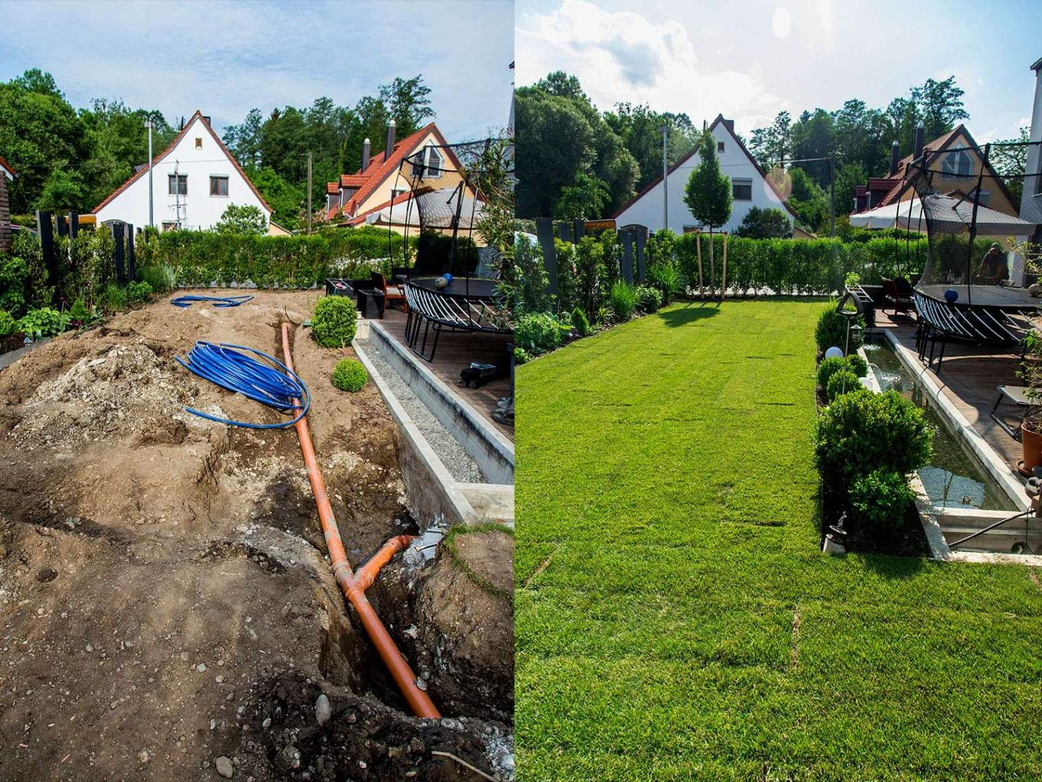 Garten Bewässerungssystem Reizend Sträucher Als Sichtschutz Zum Nachbarn — Temobardz Home Blog