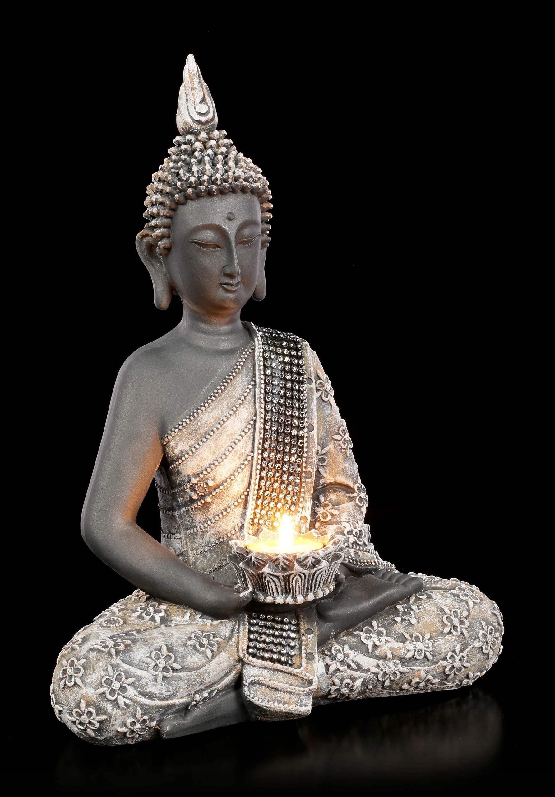 Buddha Teelichthalter Licht Der Erkenntnis